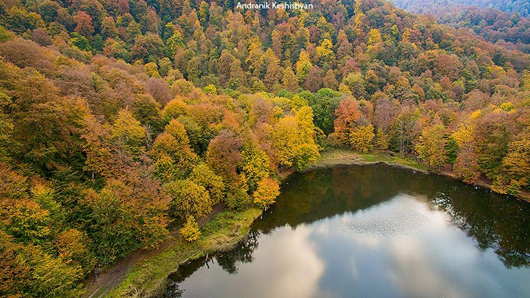 Fall colors in armenia