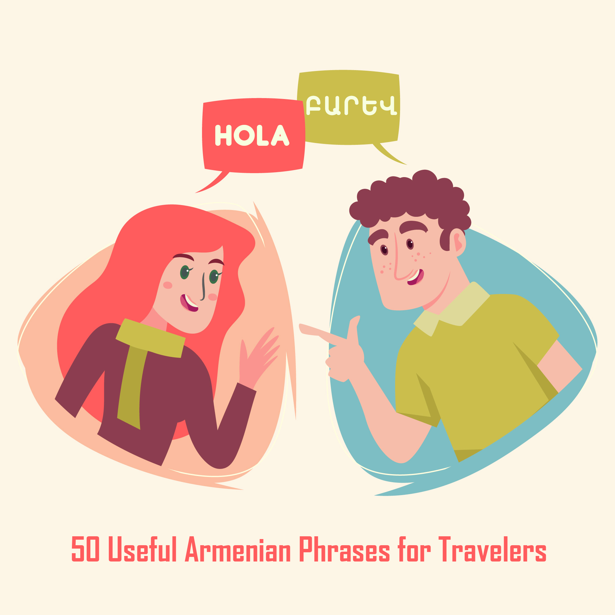 50 Useful Armenian Phrases & Words for Travelers - Hello, Thank You,