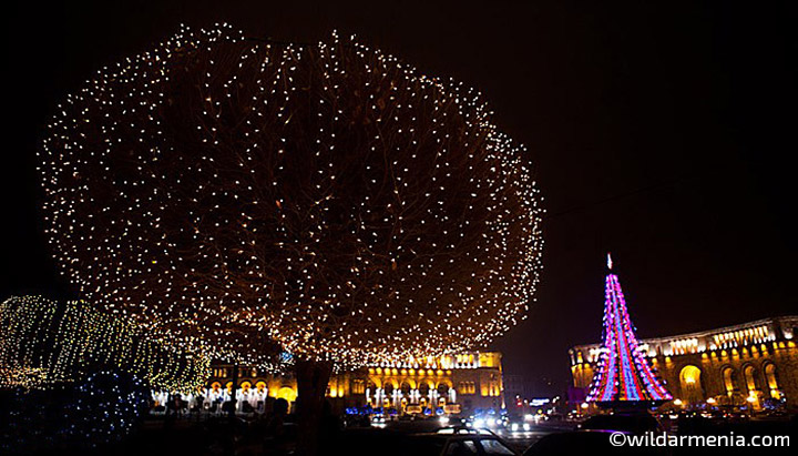 New Year Night on Republic Square