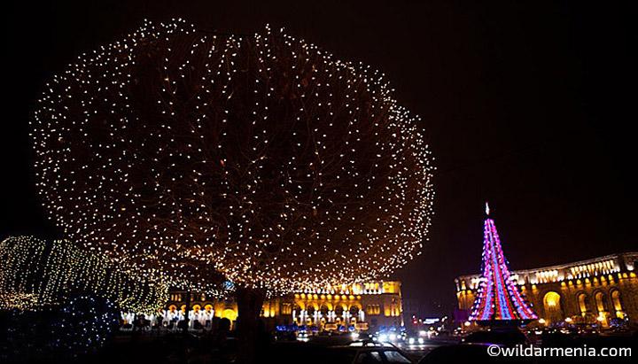 New Year Night on Republic Square
