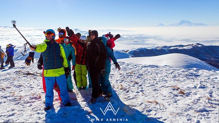 Skiing in Tsaghkadzor
