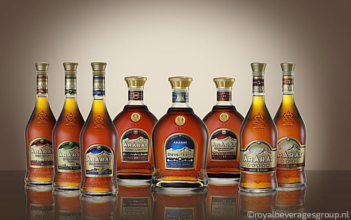 Ararat brandy collection
