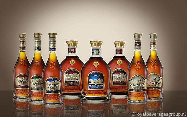 Ararat brandy collection