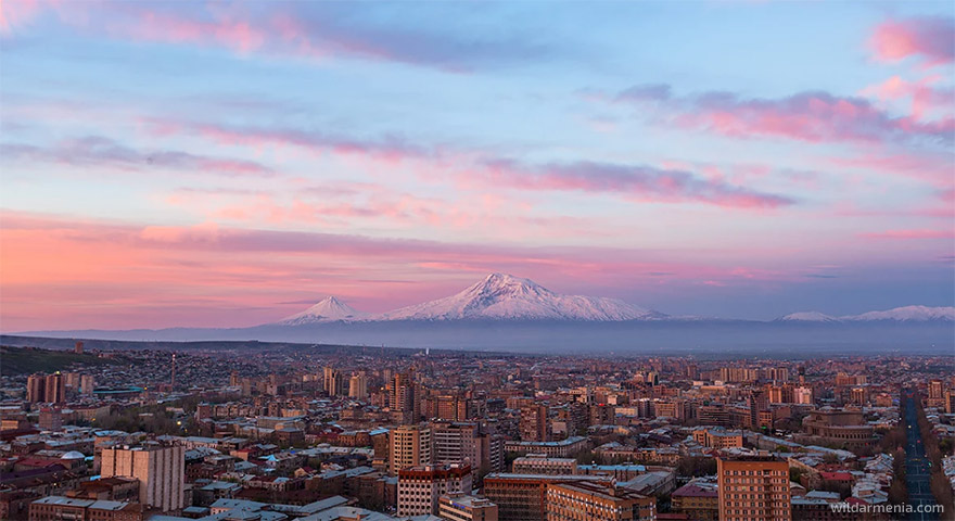 Yerevan sunrise