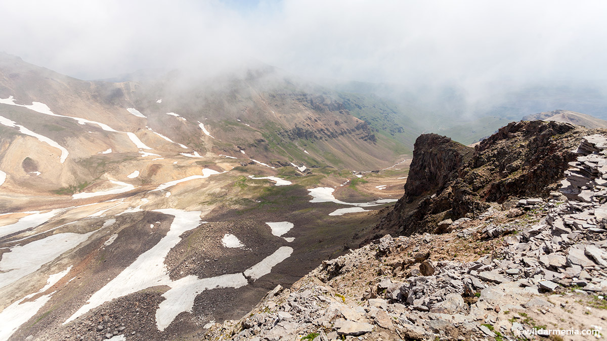 Aragats Crater Hiking Armenia