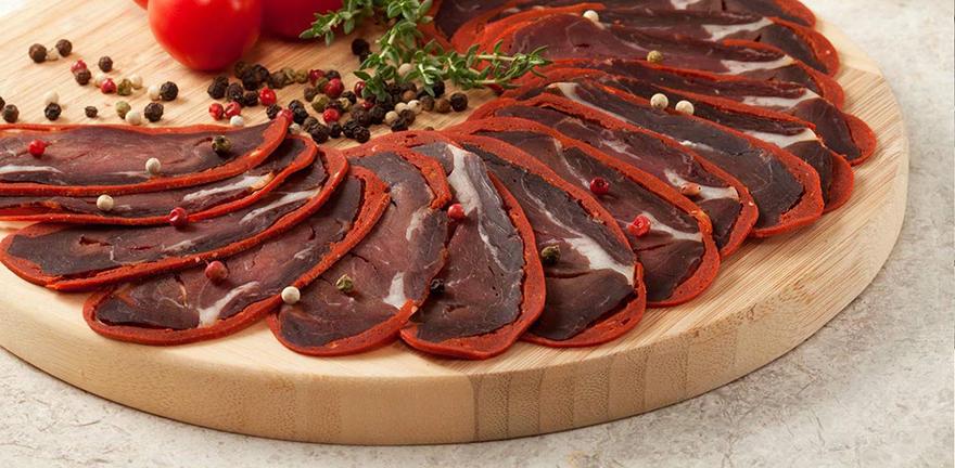 armenian food basturma pastirma