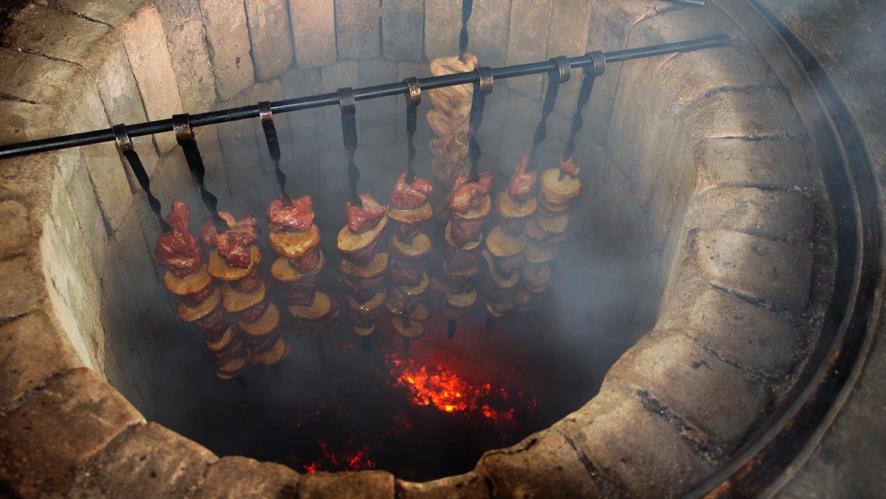 armenian food khorovats barbecue
