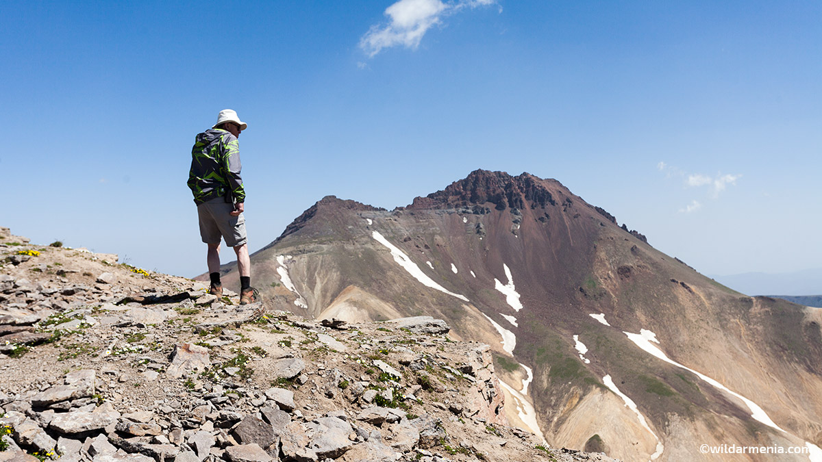 Climbing Mount Aragats Hiking Armenia