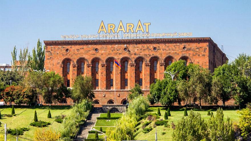 Ararat brandy factory
