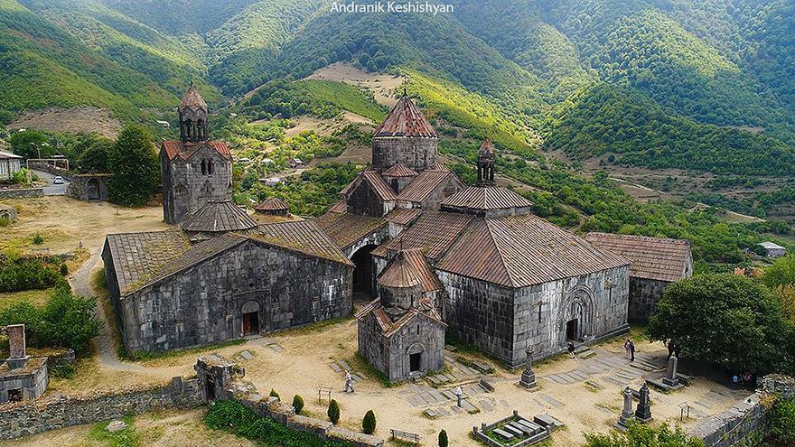 Haghpat Monastery. UNESCO sites in Armenia