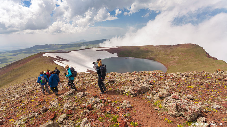 Hiking in Armenia - Azhdahak Mountain