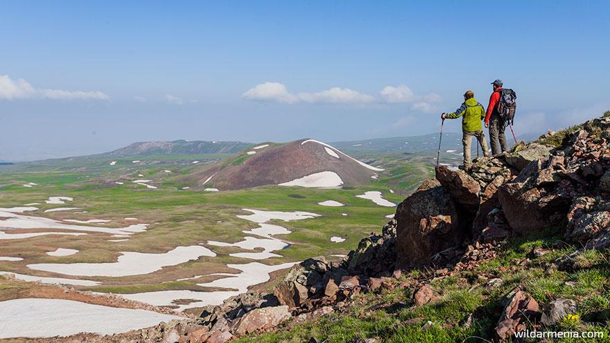 Hiking in Armenia - Geghama Mountains