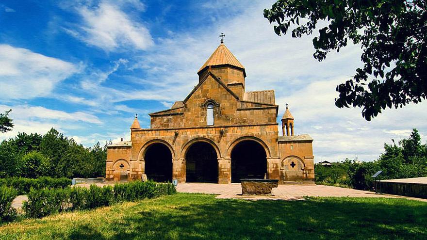 Saint Gayane Church. UNESCO site in Armenia