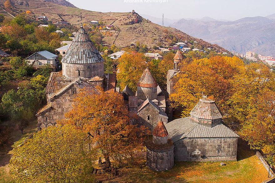 Sanahin Monastery. UNESCO sites in Armenia
