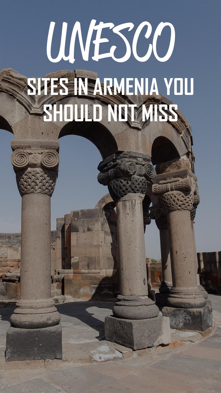UNESCO sites in Armenia