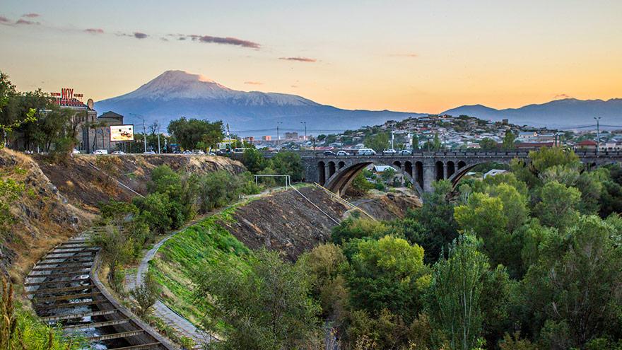 Yerevan Hrazdan Gorge