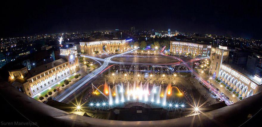 Yerevan Republic Square
