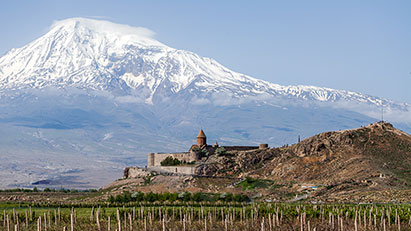 Khor Virap Monastery With Ararat