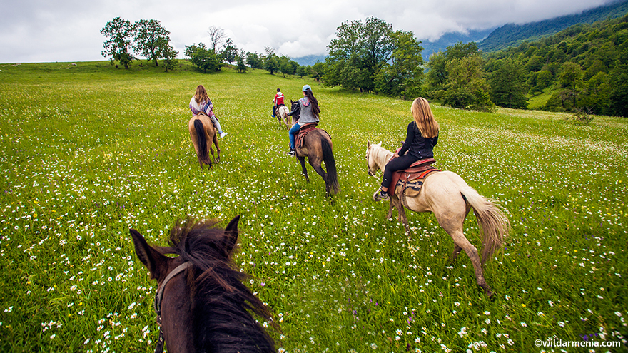 Horseback riding in Armenia