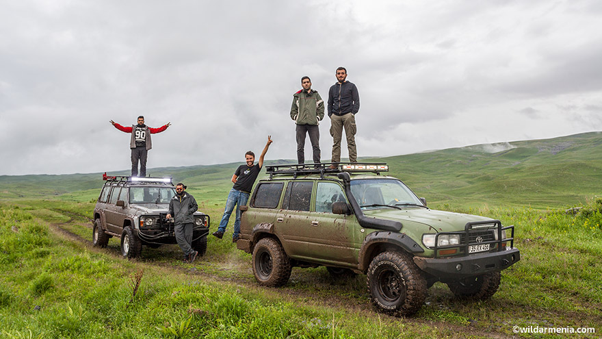 Jeep tour Armenia