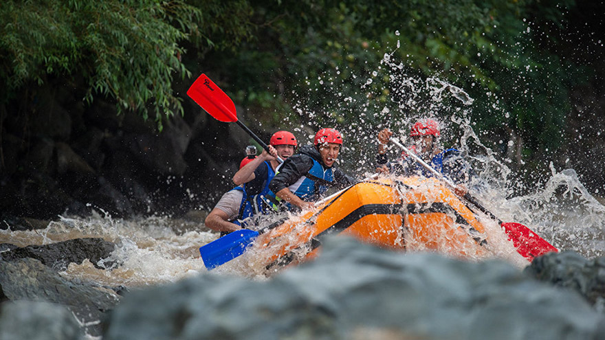 Rafting in Armenia