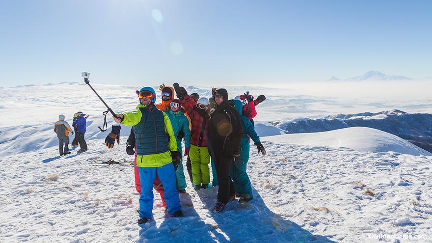 Skiing and snowboarding in Armenia