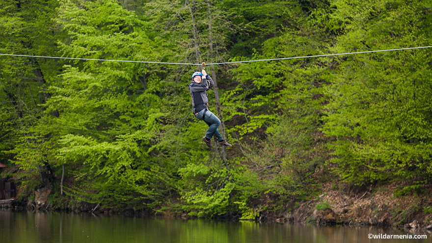 Ziplining in Armenia