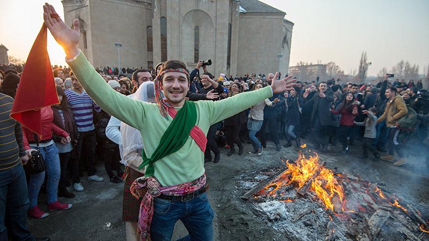 Armenian Holidays Trndez