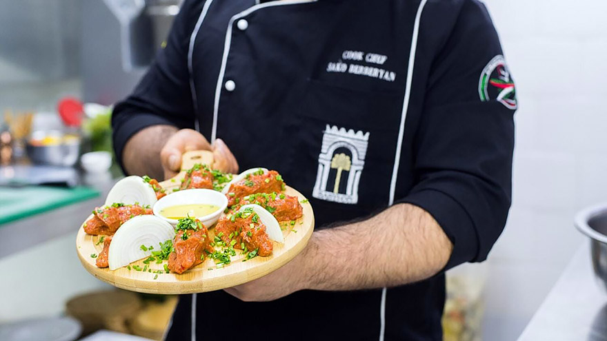 Babylon Halal Restaurant in Yerevan Armenia