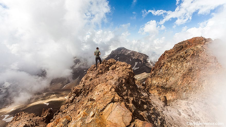 North Summit of Mount Aragats