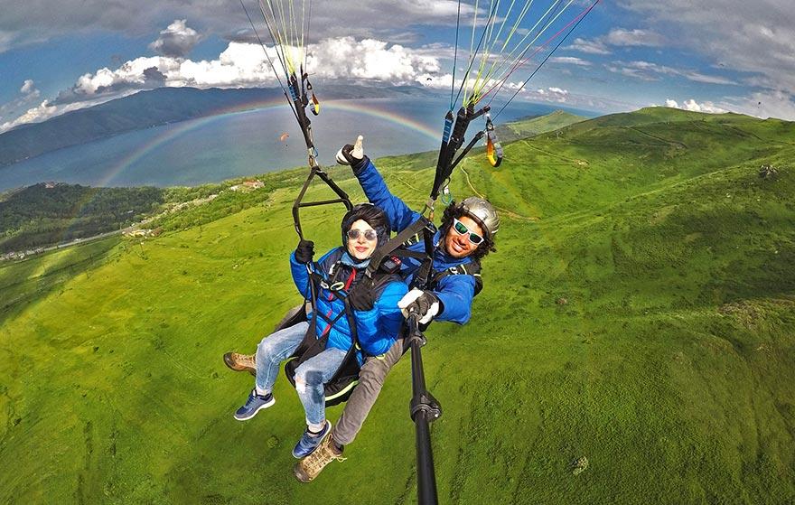paragliding armenia