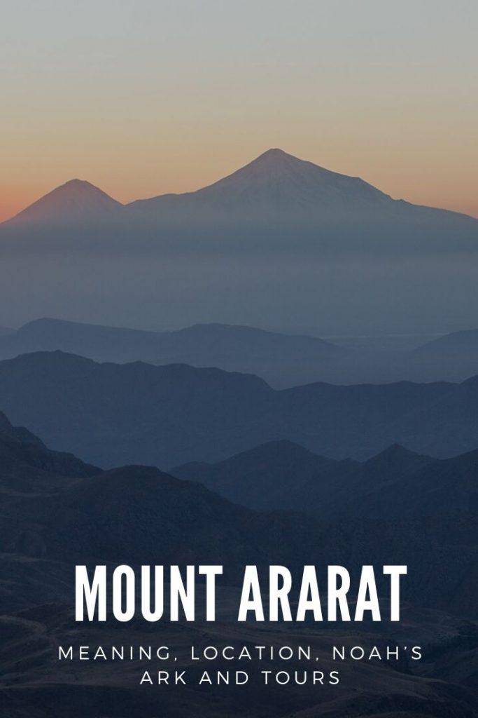 Mount Ararat - Pinterest