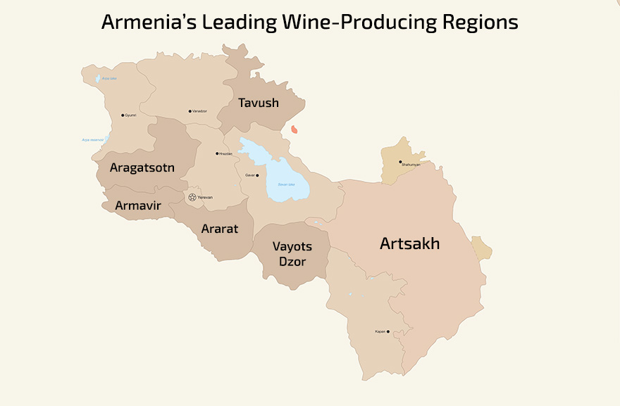 Armenia's Wine Producing Regions