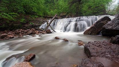 Lastiver waterfall hike