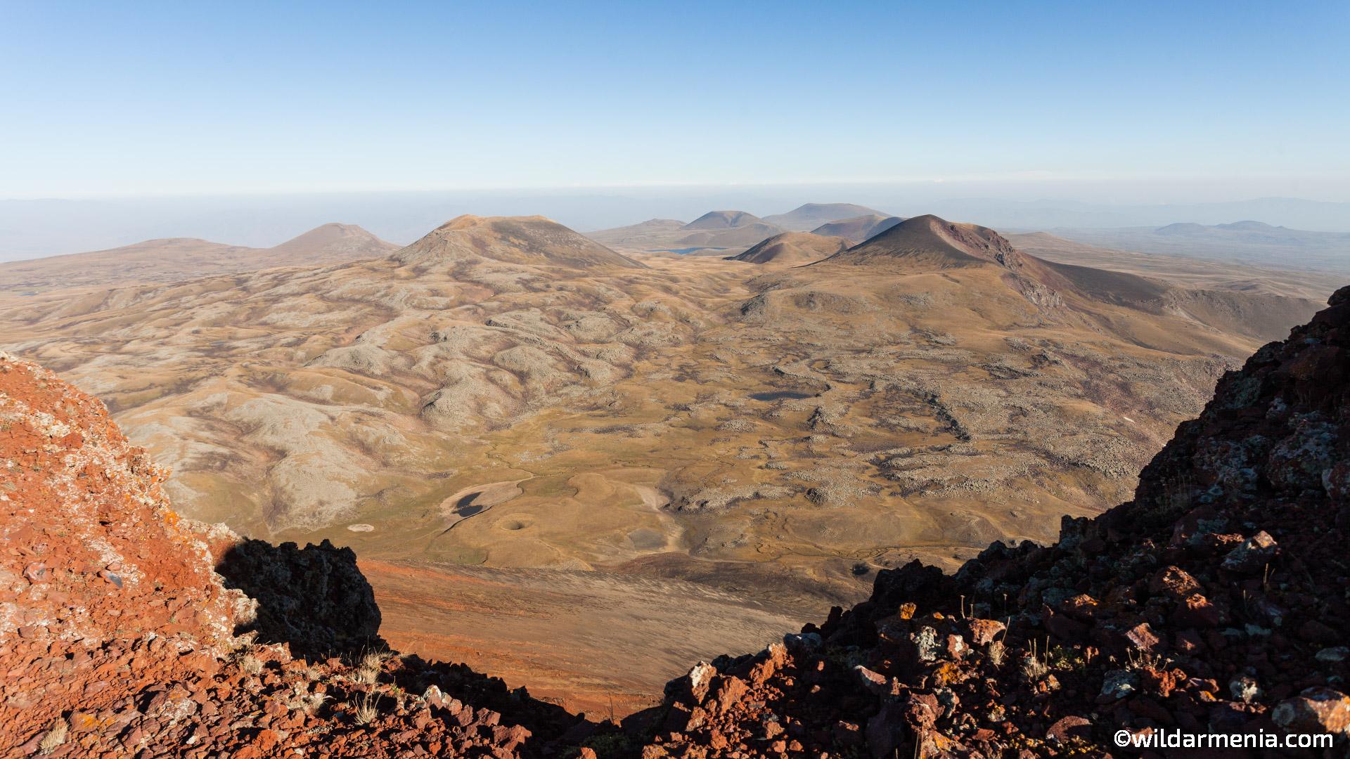 Geghama Mountains - Trekking in Armenia