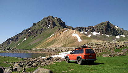 Jeep Tour Southern Armenia
