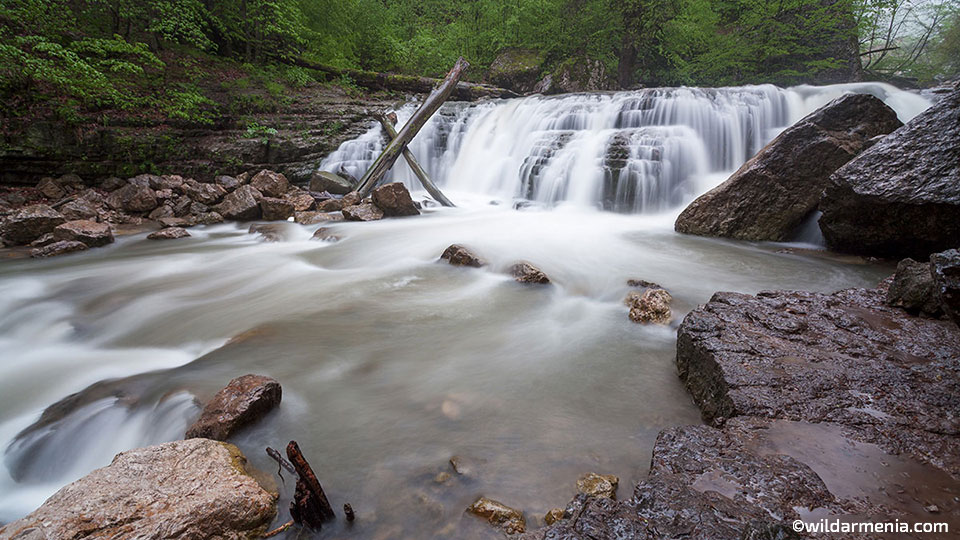 Lastiver waterfall